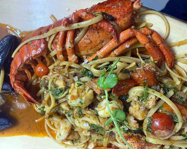 Lobster Linguine ❤️❤️