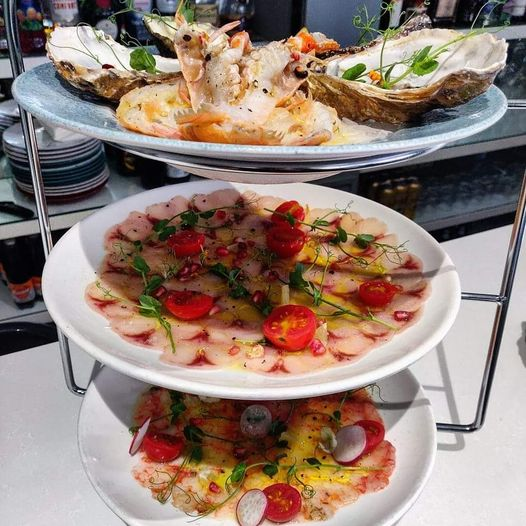 Joining us this weekend for a Crudo Platter ?